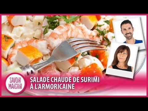 salade chaude de surimi l 39 armoricaine cuisine facile youtube. Black Bedroom Furniture Sets. Home Design Ideas