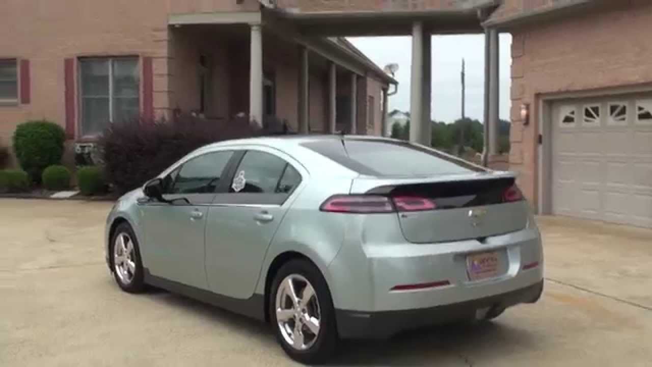 Hd Video 2013 Chevrolet Volt Electric Car Navigation For Sale See