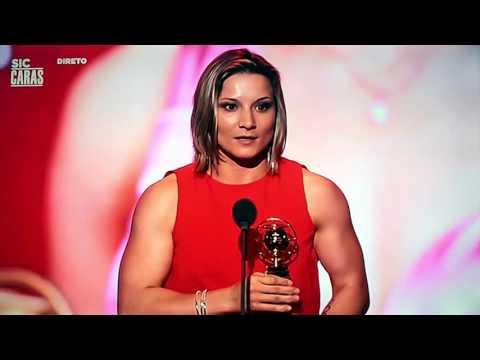 Telma Monteiro vence Globo de Ouro Melhor Desportista Feminina 2015