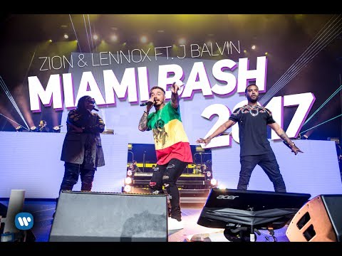 Zion & Lennox - LIVE at Miami Bash 2017