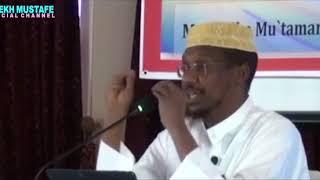 MUXAADARO CUSUB 2017 | Ahamiyada Maamulka Waqtiga - Sh Mustafe Xaaji ismaaciil