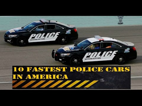 10 Fastest Police Cars in America