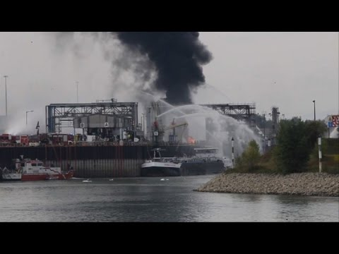 Several missing, injured in explosion at BASF plant in Germany