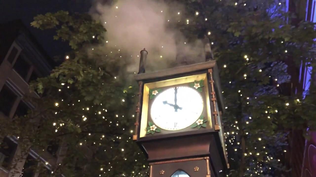 Сымые крутые паровые часы в Канаде