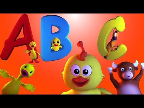 Chanson d'abc | nursery chanson | rime pour enfants  | ABC Song | Learn ABC | Rhyme For Kids