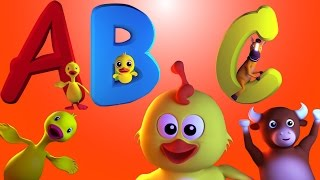 Chanson d'abc | nursery chanson | rime pour enfants  | ABC Song | Learn ABC | Rhyme For Kids