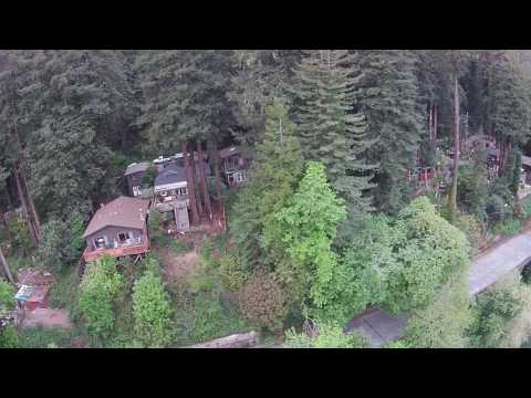 Aerial Drone Footage Monte Rio and Russian River