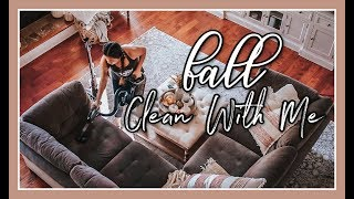LONG FALL CLEAN WITH ME   ENTIRE HOME ORGANIZATION