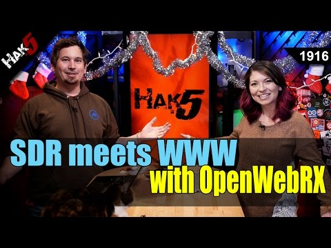 FREE SDR receivers all around the world with OpenWebRX - Hak5 1916