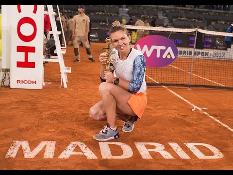 2017 Mutua Madrid Open Final | Simona Halep v Kristina Mladenovic | WTA Highlights