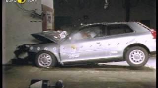Краш-тест и видео краш-тест Audi A3 (Ауди А3) - Автомобильный информационный портал - AutoTurn.ru