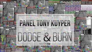 Dodge and Burn en Photoshop mediante máscaras de luminosidad.