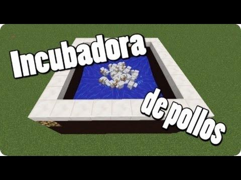 Tutoriales Minecraft: Incubadora Para Pollos