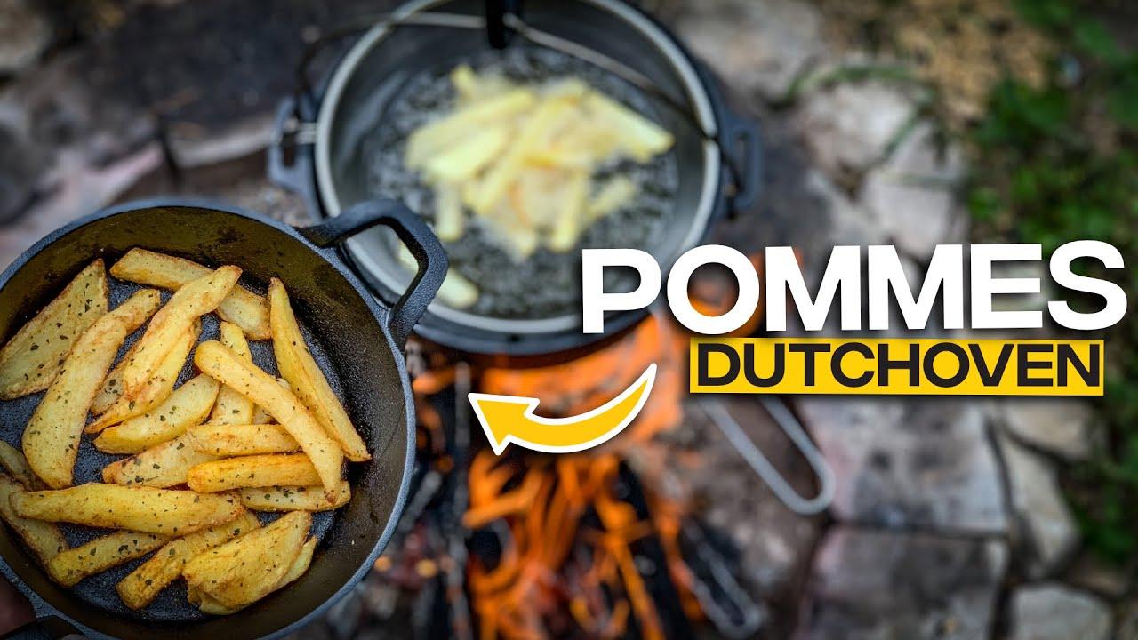 Pommes im Dutchoven selber machen |Tom Siesing