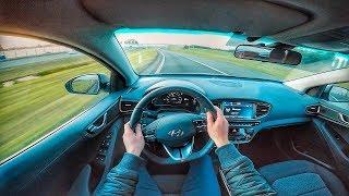 2017 HYUNDAI IONIQ ELECTRIC POV TEST DRIVE BY DRIVE711