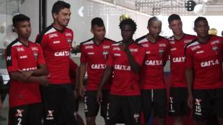 Apresentação do atacante Negueba no Atlético