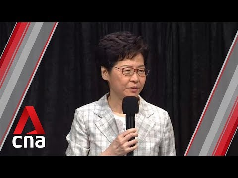 Dialogue not PR stunt but a way out for Hong Kong: Carrie Lam