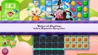 Candy Crush Jelly Saga Level 1673 (No boosters)
