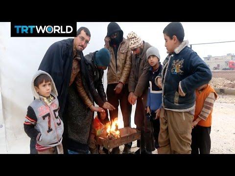 The Fight For Mosul: Iraqi Turkmen flee advancing Shia militias