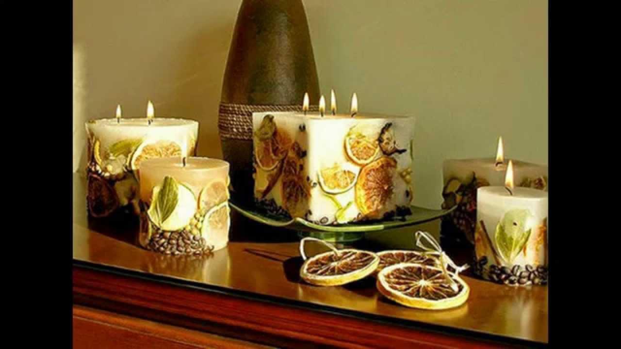 Декоративные свечи своими руками фото фото 807