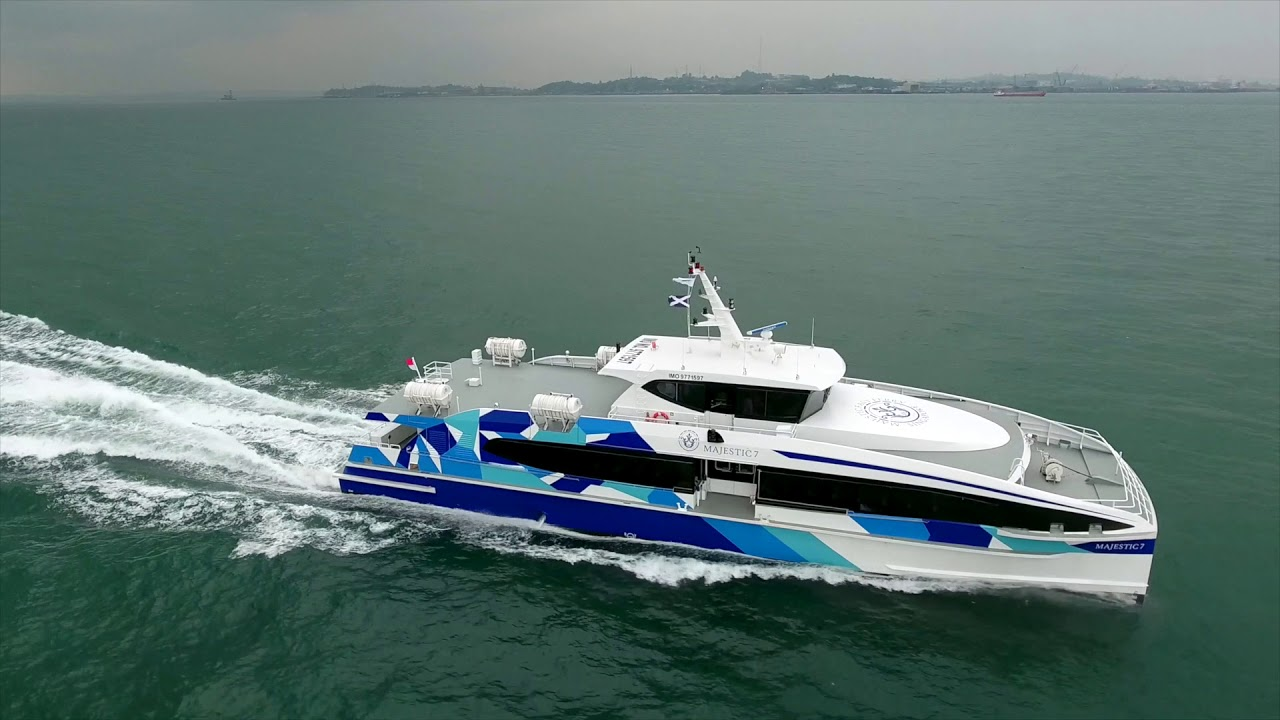 VIDEO: 7 More Majestic Fast Ferries to Be MTU Powered