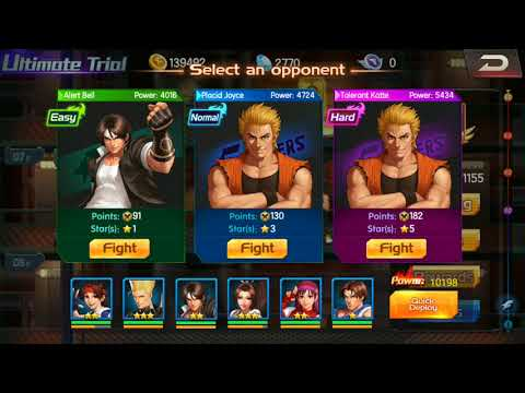 KoF98 UM OL - saga free to play, vídeo 4