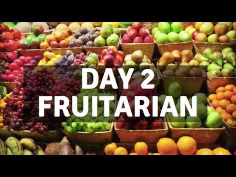 Day 2 fruitarian diet