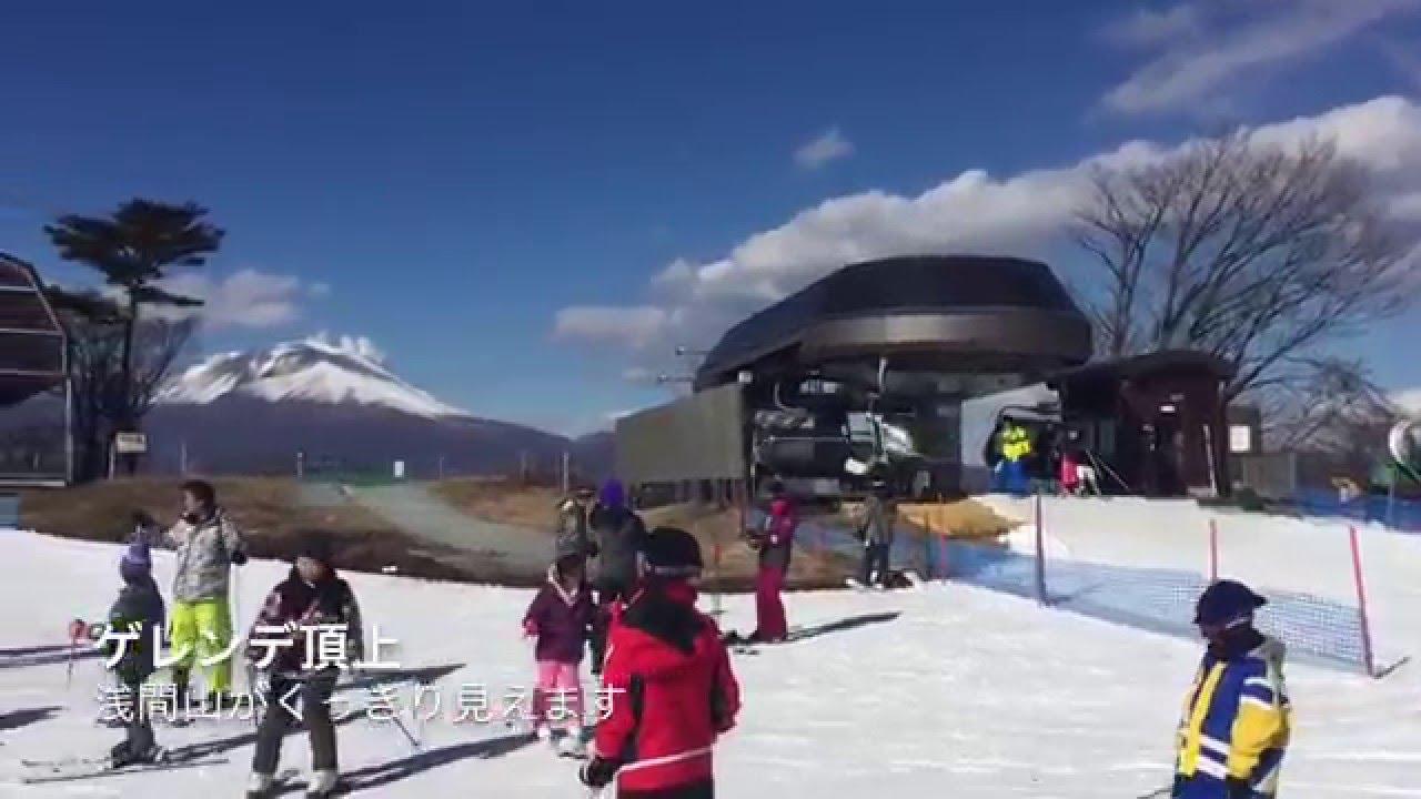 skiing in japan karuizawa prince hotel ski resort youtube