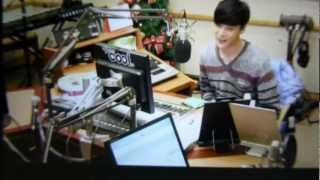 2012/12/31 kiss the radio DJ パク・ジョンミン.