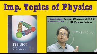 Important topics for class 11 Final Term : Physics (Part 1)By IITain