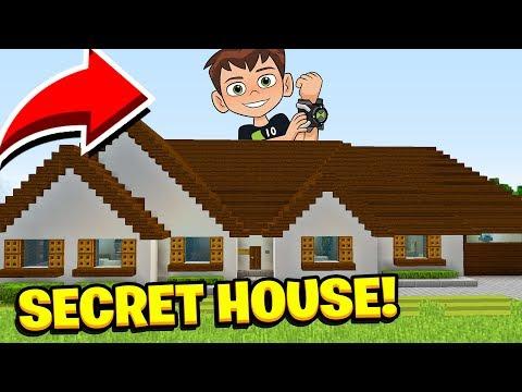 Minecraft : We Found BEN 10'S HOUSE! (Ps3/Xbox360/PS4/XboxOne/PE/MCPE)