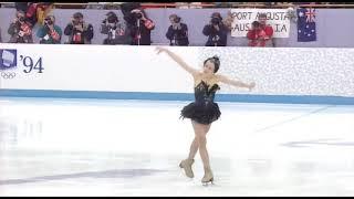 1994 Oksana Baiul Ukraine figure skating Оксана Баюл Украина фигурное кататание
