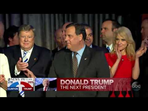 FULL VIDEO: Donald Trump elected President of the United States