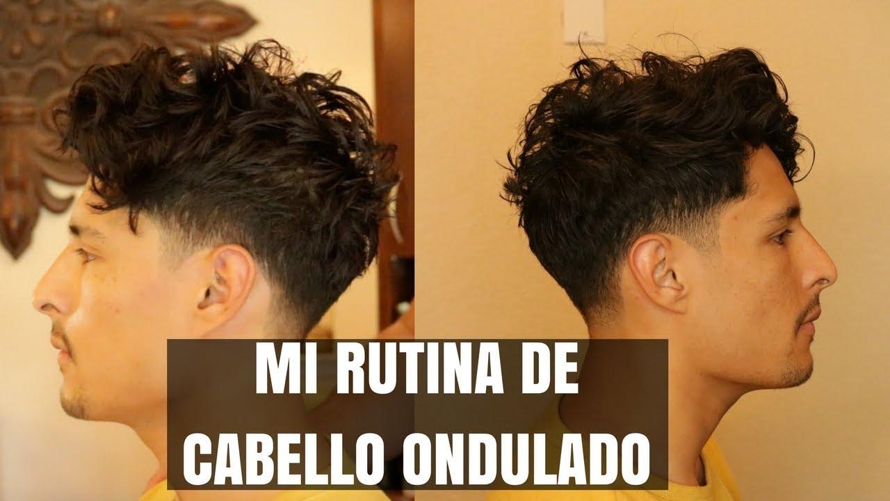 Peinado De Hombre Cabello Ondulado Natural En Espanol Youtube