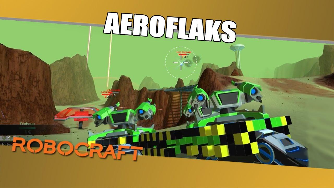 Robocraft Po Polsku #199,3 - Aeroflaks || Plaga ( Gameplay ...
