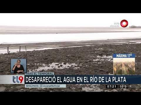 Desapareció el Río de la Plata