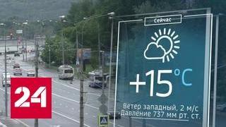 Ветер и град: в Москве действует штормовое предупреждение