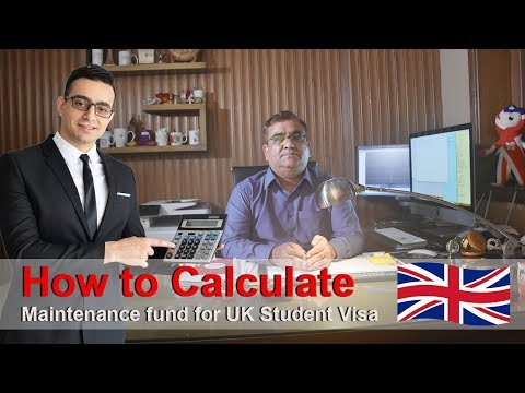 How to Calculate Maintenance fund for UK Student Visa