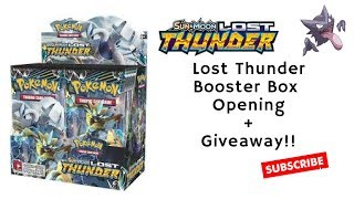 Lost Thunder Booster Box Opening part 2 - Pokemon hunters