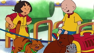 Animated Cartoons   Caillou Full Episodes HOUR LONG Caillou goes to School