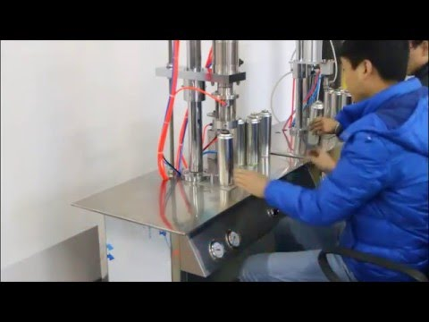 portable oxygen crimping and gas filling machine(vacuum)