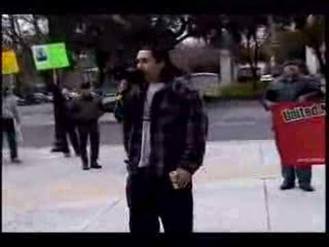 Sacramento Capitol Native American Indian protest - Part 8