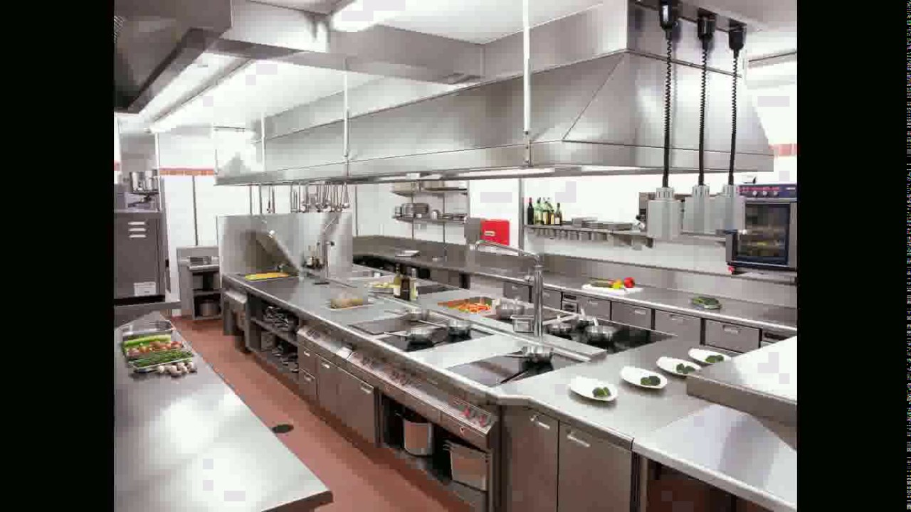 Hotel restaurant kitchen design youtube