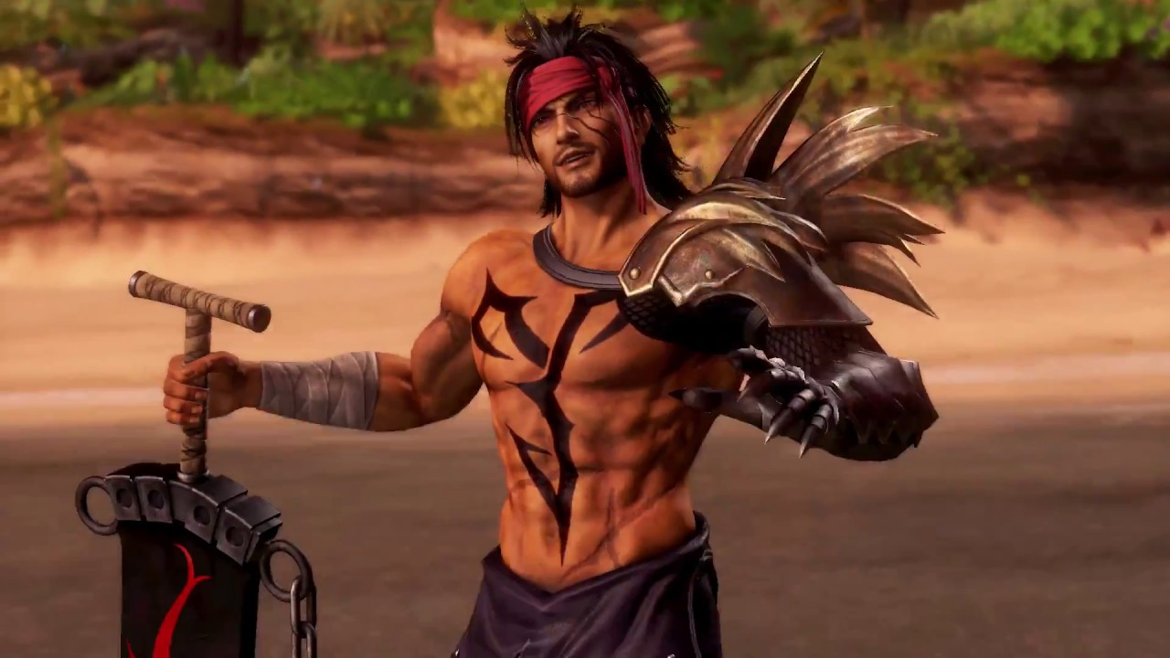 DISSIDIA FINAL FANTASY - Jecht joins the fight! - YouTube