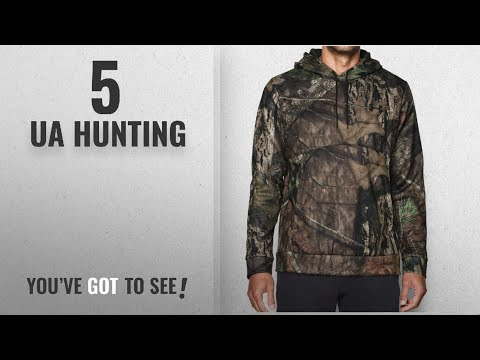 Top 10 Ua Hunting [2018]: Under Armour Men's Storm Icon Camo Hoodie, Mossy Oak Break Up C (279),