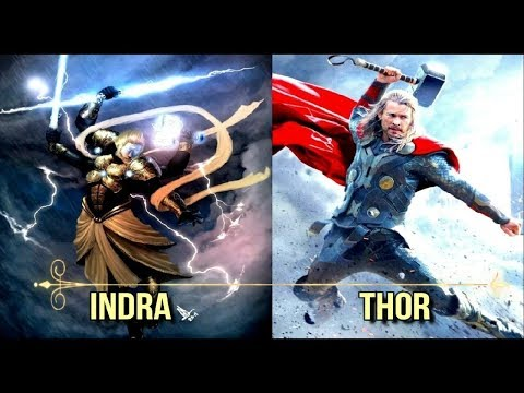 7 Strange Similarities between Thor and Indra