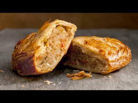 recette-:-feuilletés-roulés-au-poulet-et-champignon