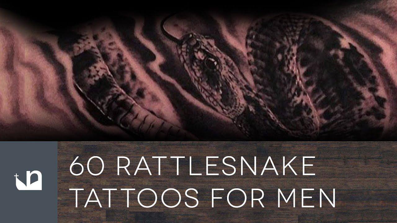 60 Rattlesnake Tattoo Designs For Men – Manly Ink Ideas