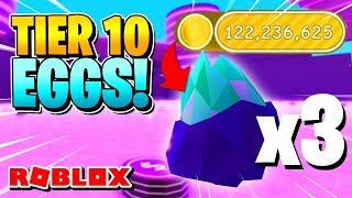 ROBLOX PET SIMULATOR: HOW OP ARE TIER 10 EGGS?!