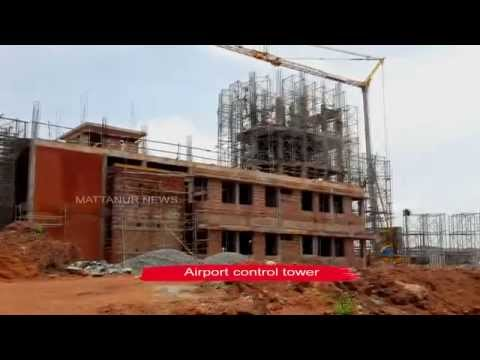 Kannur Airport Work Progress 5.8.2015